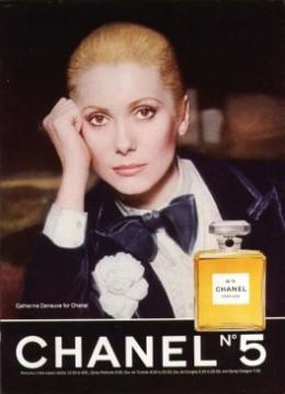 Vintage Chanel No 5 Ad Deneuve