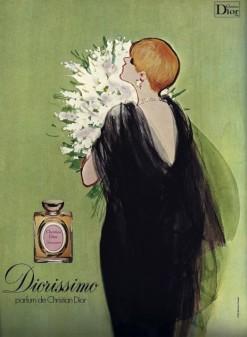 Vintage Diorissimo Ad